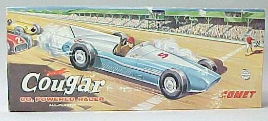 Merit Plastic Race Car Models