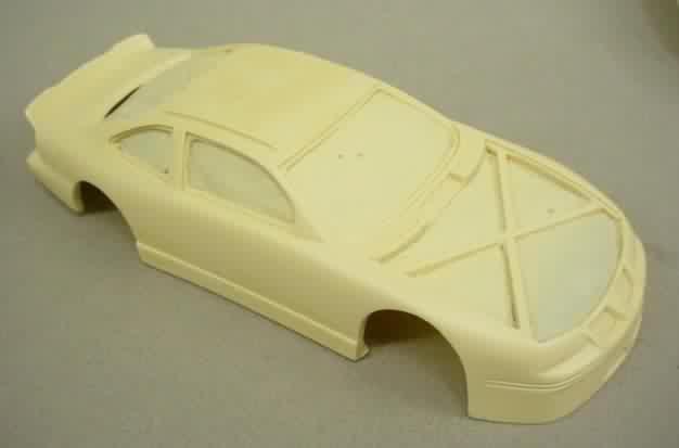 Plastic Model Car Resin Parts
